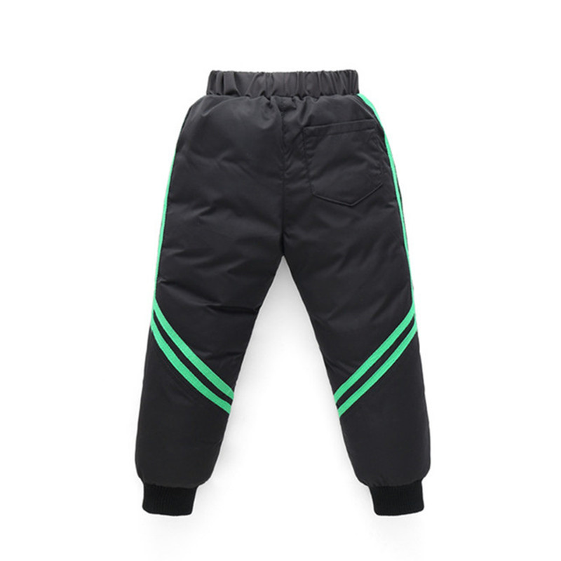 Thicken Winter Pants For Baby Boys Girls High Waist Warm Children Clothes Waterproof Kids Boy Fashion Trousers Baby Long Pants 4