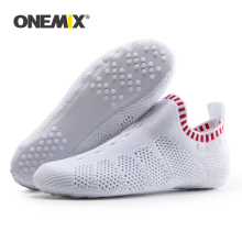 Slippers Shoes ONEMIX Quick-Dry Women New Breathable Socks Mesh Yoga Environmentally