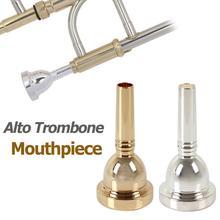 6 5AL Alto puzon ustnik srebrny złoty opcjonalnie trąbka ustnik instrumenty dęte drewniane tanie tanio NoEnName_Null EPC_MIA_615