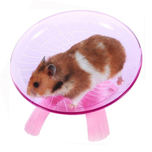 Flying Saucer Hamster-Accessories Mouse Exercise-Wheel Running-Disc Small Pet Toy-Cage