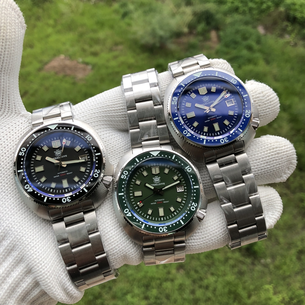 H71ce88b9c25848caa10640a1d3321947M SD1970 Steeldive Brand 44MM Men NH35 Dive Watch with Ceramic Bezel