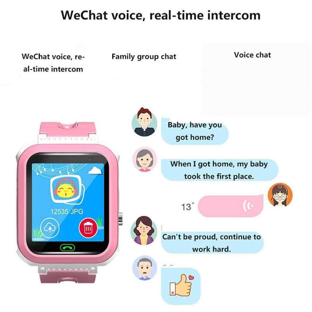 Детские умные часы с двусторонним голосовым чатом, умные часы, браслет, водонепроницаемые детские умные наручные часы, часы для телефона SOS