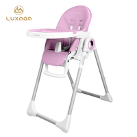 Luxmom baby chair feeding furniture kitchen chair with wheels free shipping