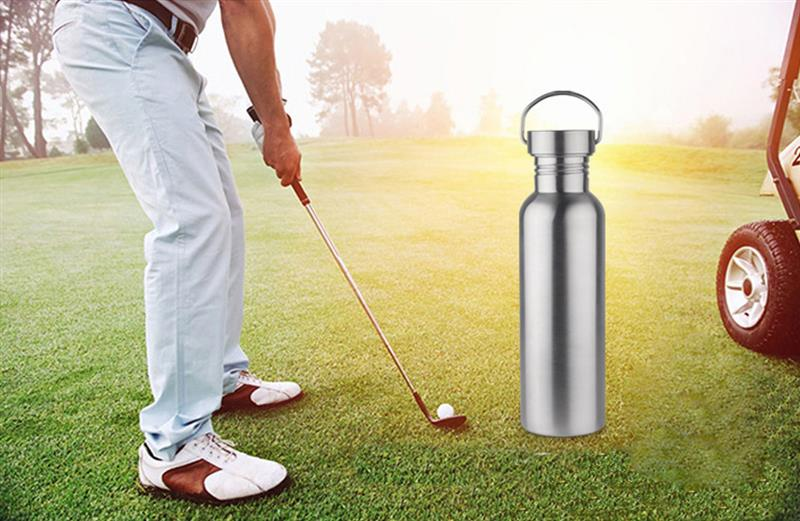 Water Bottle Portable Stainless Steel Vacuum Flask Stainless Steel Sport Drink Bottle Outdoor Bottle For Sports Hiking Camping in Water Bottles from Home Garden