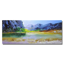 Landscape painting Abstract Oil Painting on Canvas Wall Art Pictures for Hand-painted Living Room Nordic Decor