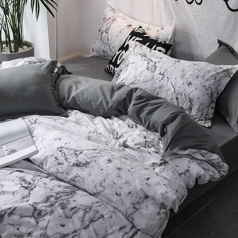 Comforter set di biancheria da letto 3pcs biancheria da letto set Queen Re nordic duvet cover set Quilt Cover Biancheria Da Letto Cuscino della cassa Casa decorazione Tessile