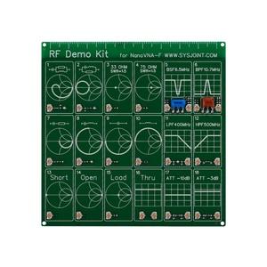 Image 5 - Kit de demostración RF NanoVNA RF Placa de comprobador filtro atenuador para NanoVNA Vector red antena del analizador/espectro