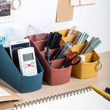 Newly Plastic Multi-Grid Desktop Storage Box Living Room Cosmetics Bedroom Decoration XSD88