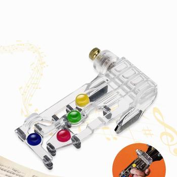 System uczenia się gitary pomoc dydaktyczna akcesoria Newbie gitara akustyczna akord Buddy pomoc dydaktyczna narzędzie gitarowe do nauki gitary tanie i dobre opinie Vinkkatory XYZ032 NONE STROIK Stringed Instruments