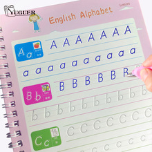 Reusable Writing Paste Calligraphy Handwriting Copybook For Kids Word Children's Book English Calligraphic Letter Practice Toy