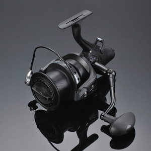 Image 2 - 12+1 Double Drag Carp Fishing Reel Spinning Reel with Front and Rear Left Right Interchangeable Wheels for Saltwater Freshwater