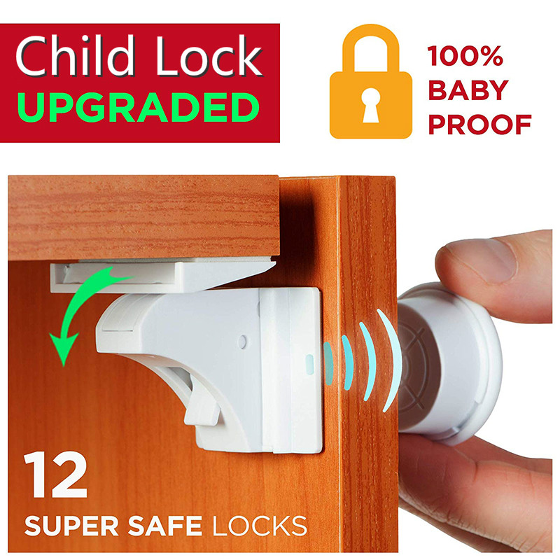 Hot DealsChild Lock Cabinet Protections Invisible-Locks Kids Drawer Magnetic Security Baby Safety