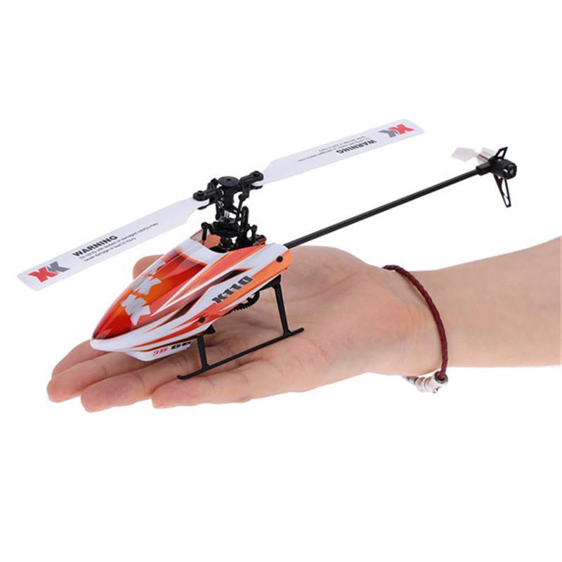 Kuulee XK K110 бесколлекторный р/у вертолет RTF/BNF для детей Веселые детские игрушки подарок RC дроны на открытом воздухе