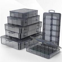 Organizer 9-24 Grids Adjustable Storage Container Compartment Plastic Storage Box Component Screw Holder Case Display Container