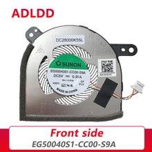 Новый Процессор охлаждающий вентилятор/радиатор для DELL Latitude 12 5290 5280 5285 2in1 0NYN03 EG50040S1-CC00-S9A DC28000K5SL DFS1503058R01 FJ30