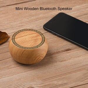 Image 2 - Schaken Houten Bluetooth Speaker Draadloze Subwoofer Mini Draagbare Bass Kolom