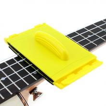 Guitar String Two-sided Cleaner Cleaning Tool with Soft Fibre Brush Small and Durable for Guitar Ukulele Guitar String Cleaner ghs fast fret string cleaner string and neck lubricant guitar care