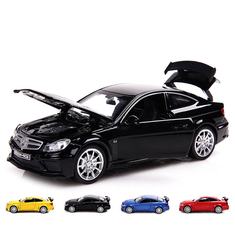 JIAYE High Simulation Model Cars Diecasts Luxury Alloy Vehicle Luxury Model Car With Base 1/32 Model Car Collection Toys Gifts