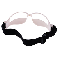 12pcs Anti Down Basketball Goggles Sports Eyewear Frame Training Equip White
