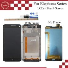 Ocolor para elephone g7 display lcd e tela de toque com quadro digitador assembléia para elephone p6000 lcd substituição da tela