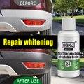 HGKJ 24 Plastic Trim Coating Long-Lasting Hydrophobic Car Exterior Plastic Restorer Aging Plastics Turn Black And Bright 50ml