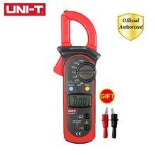 UNI-T UT201/UT202/UT202A/UT203/UT204/UT204A 400-600A Handheld Digital Clamp Tester NCV DC/AC Multimeter Resistance Meter 1pcs uni t ut202 400 600a digital clamp meters w temperature tester