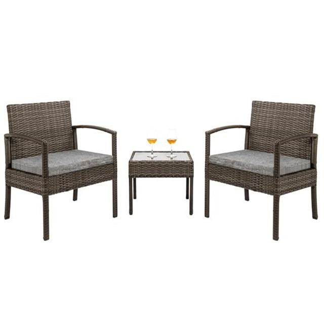 3 Piece Wicker Furniture Set 1