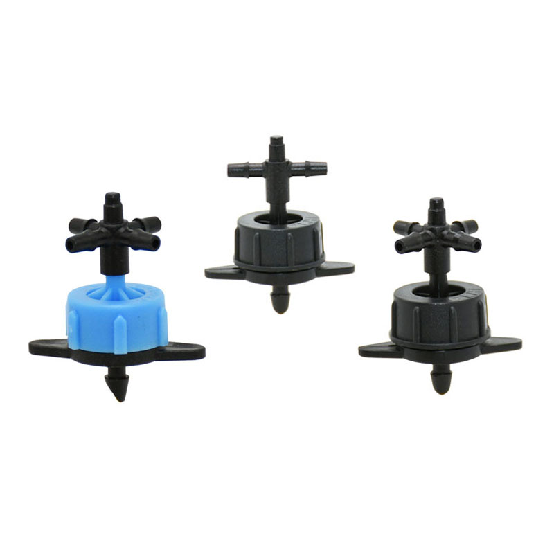 2L 4L 8L Drippers 4-way Water Splitter Emitter Drip Water Debit Regulataion In Dripper Drip Arrow System 10pcs