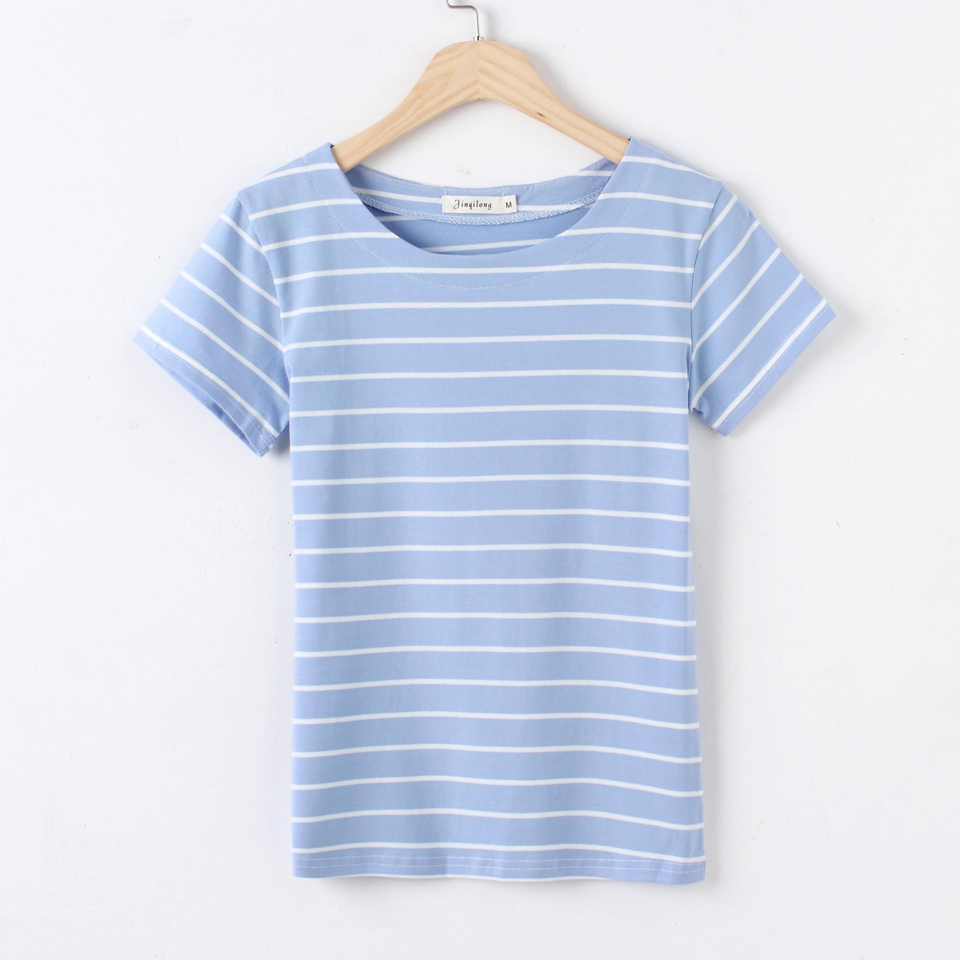 Tops T Shirt Women Short Sleeve Tshirt Women  Cotton Beige  Lvory