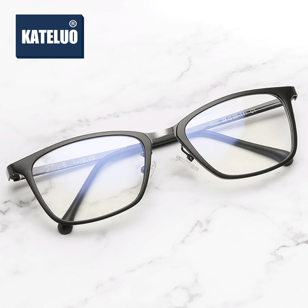 KATELUO Unisex Computer Goggles Glasses Optical Spectacles Anti Blue Laser Eyeglasses Accessories For Men Women K9931