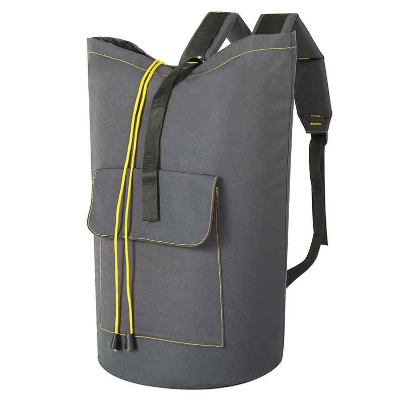 Extra Large Laundry Bag Laundry Backpack Hanging Laundry Hamper Adjustable Shoulder Straps Camping Bag Waterproof Durable Travel