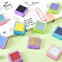 Inkpad Child Craft Oil Gradient Color Based Diy Ink Pad Rubber Stamps Paper Scrapbooking 16 Colors Inkpad Finger Paint