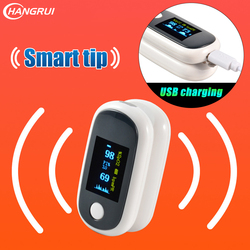 USB Aufladbare lade OLED Fingertip Pulsoximeter finger Blut Sauerstoff saturometro Pulsoximeter Hause familie oximetro de dedo