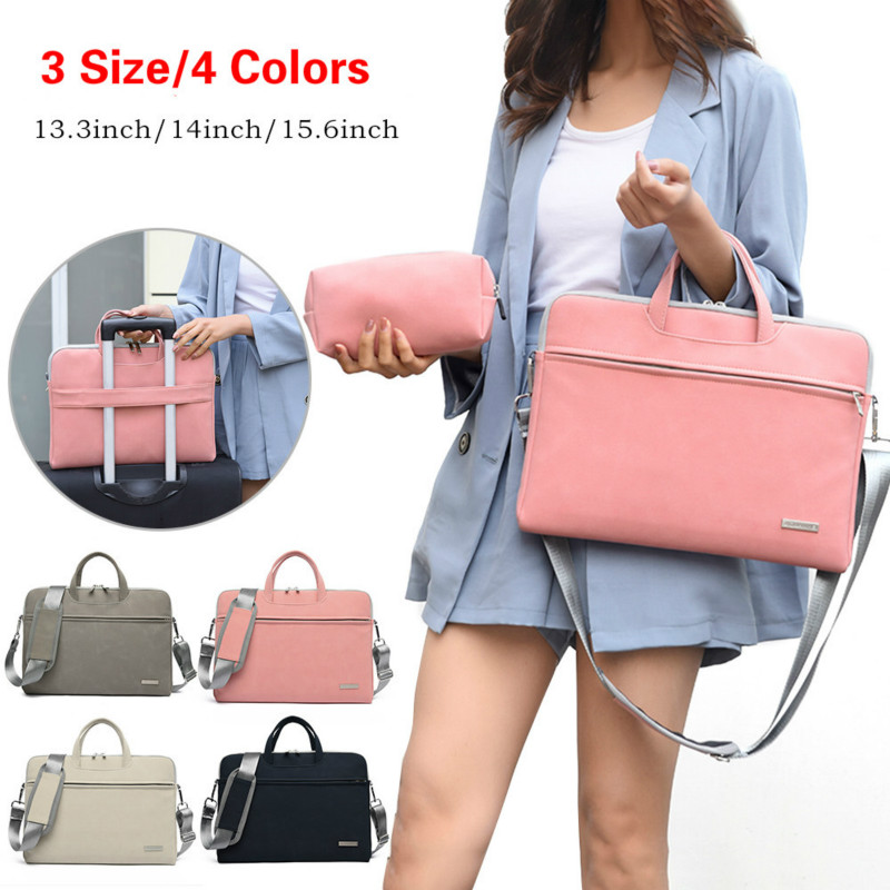 Large Briefcase Office Bags For Women Maletin Mujer Briefcase Women Portatil 13.3 14 15.6 Inch Laptop Bag Tote Work Bag Business