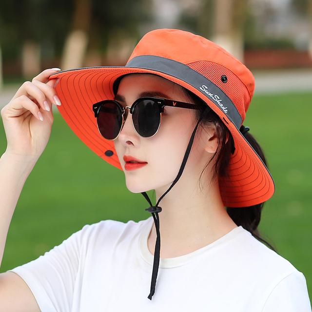 Sombrero protección UV