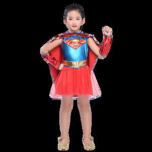 Image 5 - Dawn Of Justice Child Wonder Women Costume Supergirl Batgirl Robin Little Girls Superhero Fancy Dress Halloween Carnival Party