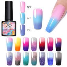 Сменный Гель лак для ногтей 8 мл 14 цветов