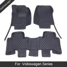 Car-Floor-Mats Golf Volkswagen Touareg Model Beetle Sharan Passat Custom Tiguan for Polo