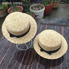 Соломенная шляпа с козырьком для женщин модная пляжная Панама