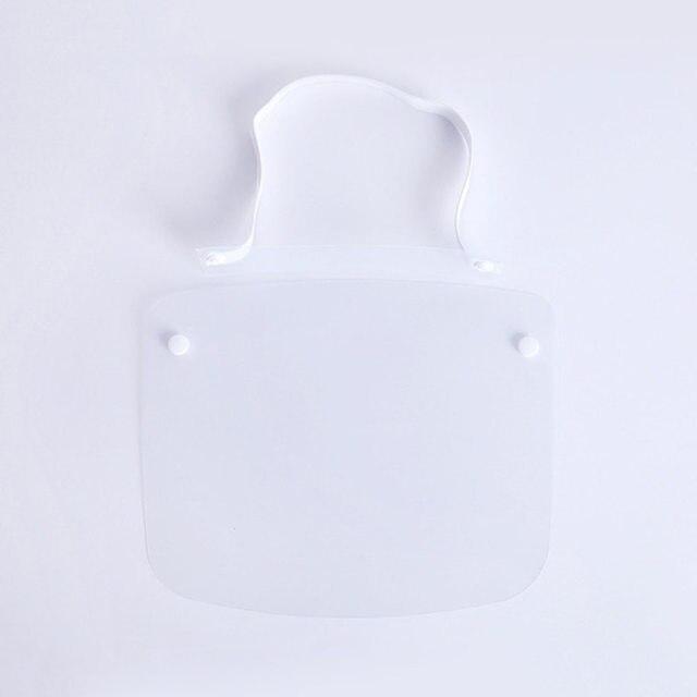 3Pcs/Set Protective Face Shield Clear Visor Anti Fog Saliva Dustproof Full Cover Full Face Cover Anti-Fog Shield 2