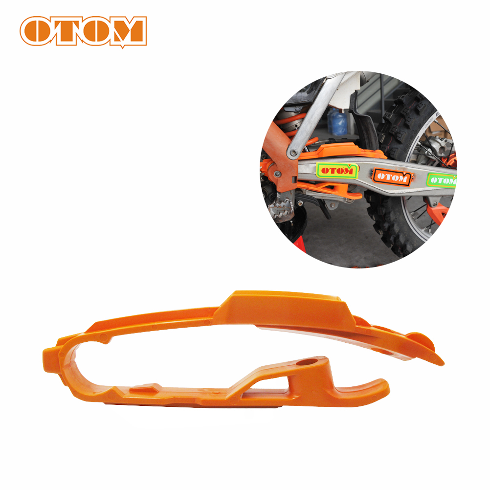 OTOM Chain Slider-Up Rubber Pad Accessories Off-road Motorcycle Flat Fork Rubber For KTM SX125 SX250 SXF250/350 XC250/300