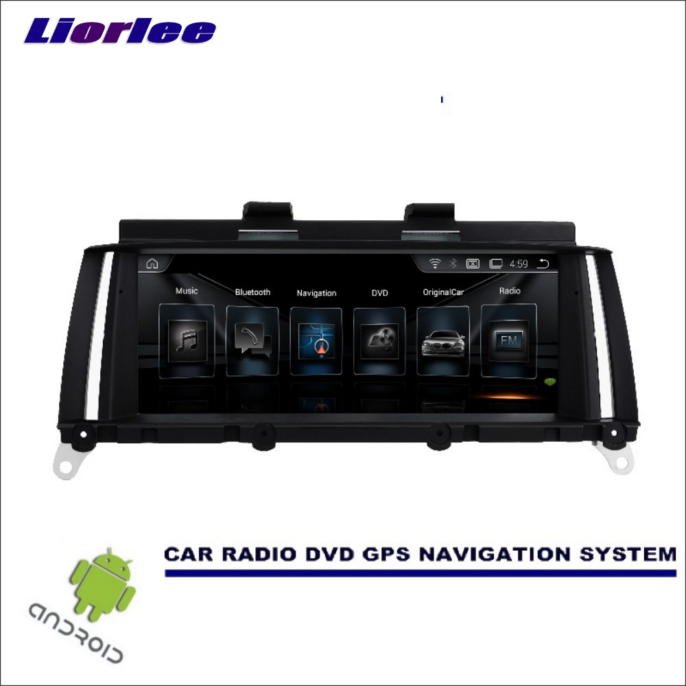 Car GPS DVD Multimedia Player For BMW X3 X4 F25 F26 2011-2017 Android Radio Stereo Audio Video GPS Carplay Navigation System