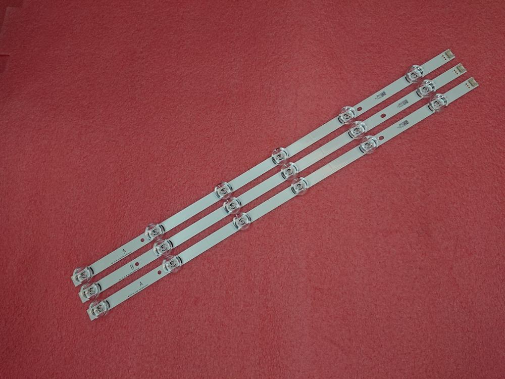 3 PCS LED strip for LG 32LB5800 32LF560V LGIT UOT A B 6916L-1974A 1975A 6916L-2223A 2224A innotek DRT 3.0 32 WROOEE 0418D 0419D
