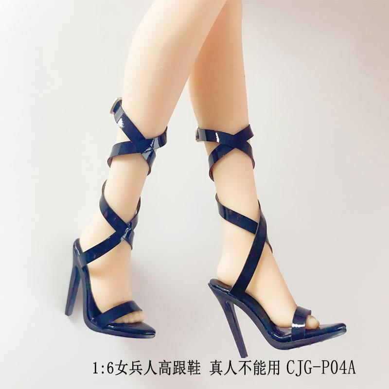 Scarpe Tacco Alto Sandali modello Accessorio per 1//6th Phicen tbleagure figura donna