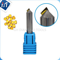 MCD diamond polish tools Manual crystal diamond Milling Cutter Chamfer Tools CNC hub inserts turning tools