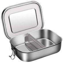 1l keith titanium bowl big capacity folding lunch box outdoor camping travel hiking cooking dinner box with titanium lid ti5328 800/1200ml Stainless Steel Food Container Box with Lid Portable Bento Box Office Sturdy Travel Lunch Box Durable Camping