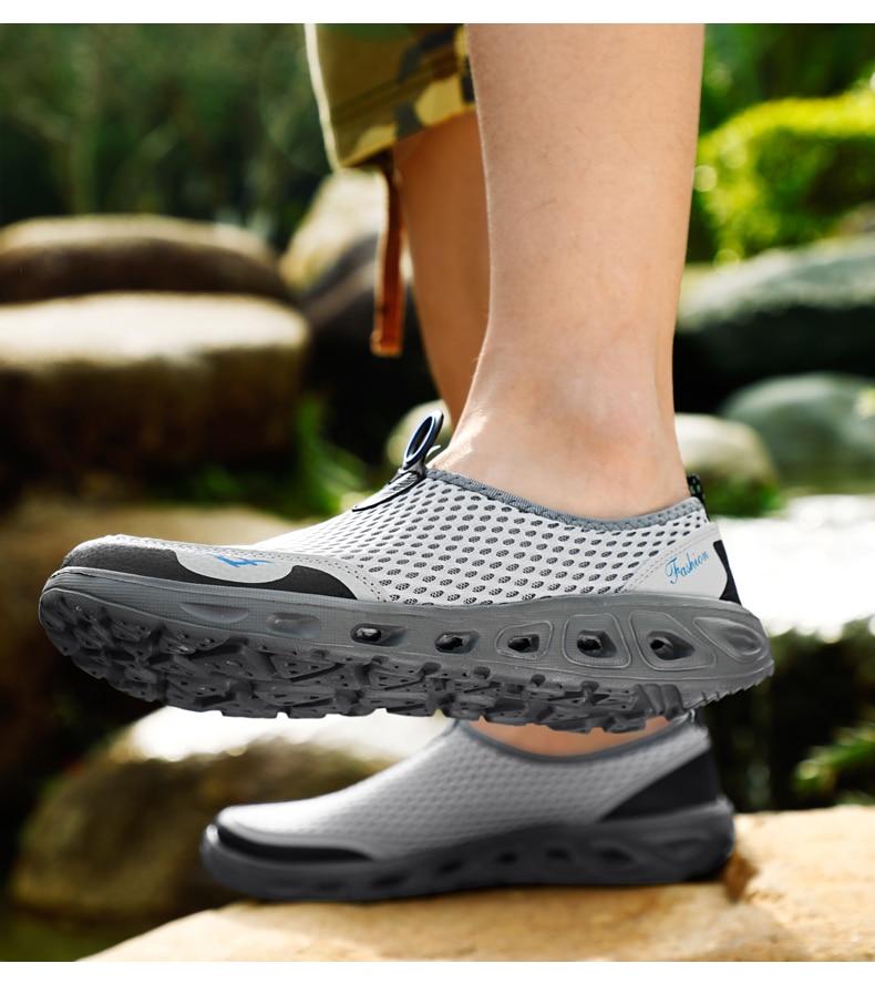 H71d3c35ef83542348b2907f43216c639v UEXIA Big Plus Size Shoes Unisex Summer Sneakers Light Breathable Casual Shoes Couple Fashion Comfortable Mens Mesh Flats Shoe