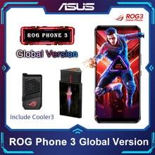 Original ASUS ROG Telefon 3 Globale Version ZS661KS Snapdragon 865/865Plus 128/256GB NFC Android Q OTA Update 5G Gaming Telefon ROG3
