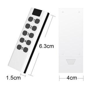 Image 5 - Evrensel İngiltere tipi priz fiş RF 433mhz kablosuz uzaktan kumanda ışık anahtarı akıllı ev otomasyon uyumlu Broadlink RM4 Pro