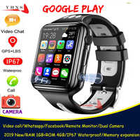 Smart 4G GPS Kids Students Bluetooth Music Camera Wristwatch Video Call Monitor Tracker Location Google Play Android Phone Watch